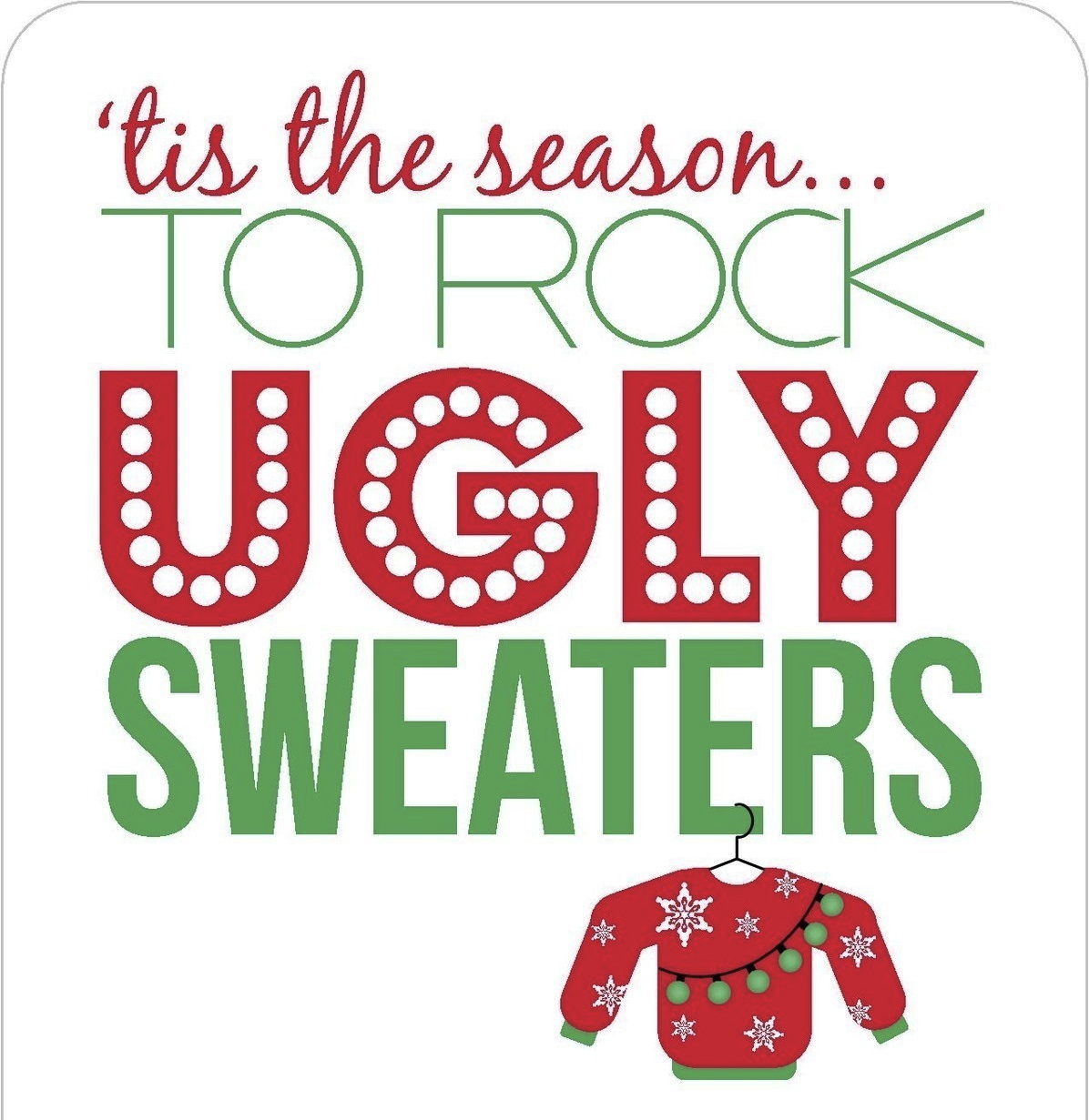 Ugly Christmas Sweater Party Funny Event Ideas and Inspir...
